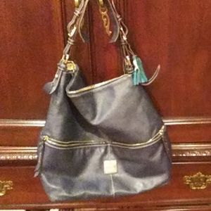 Dooney & Bourke Large Navy Bag